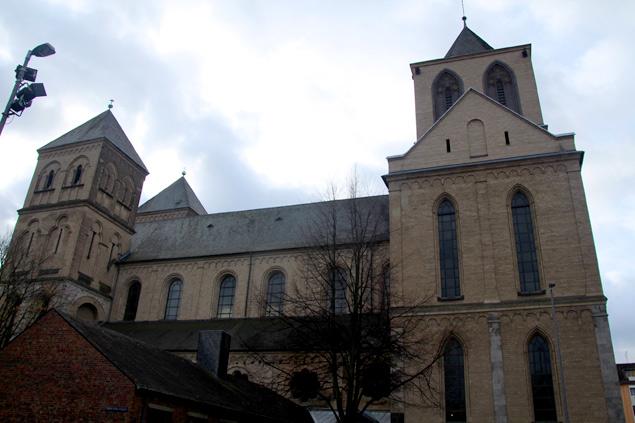 Fachada de St Kunibert