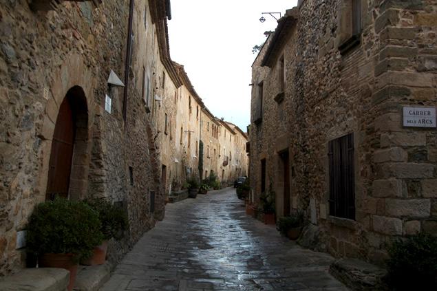 Calles medievales de Monells