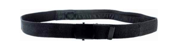 Cinturón con bolsillo secreto