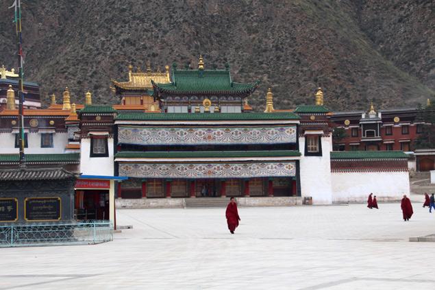 Monasterio de Labrang , la joya de Xiahe