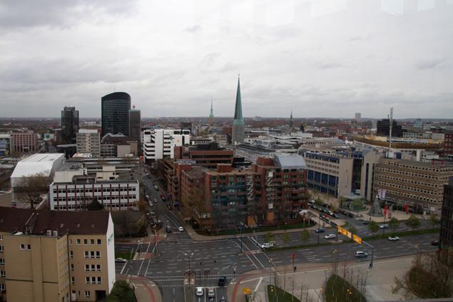 Dortmund vistas desde la torre U