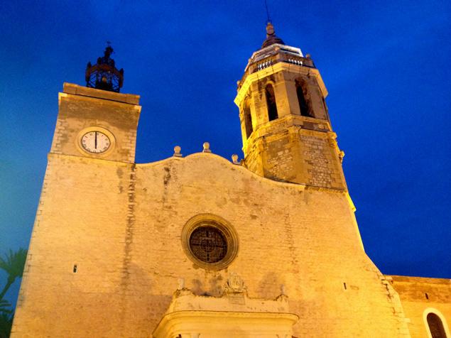 Iglesia de Sitges, todo un estandarte