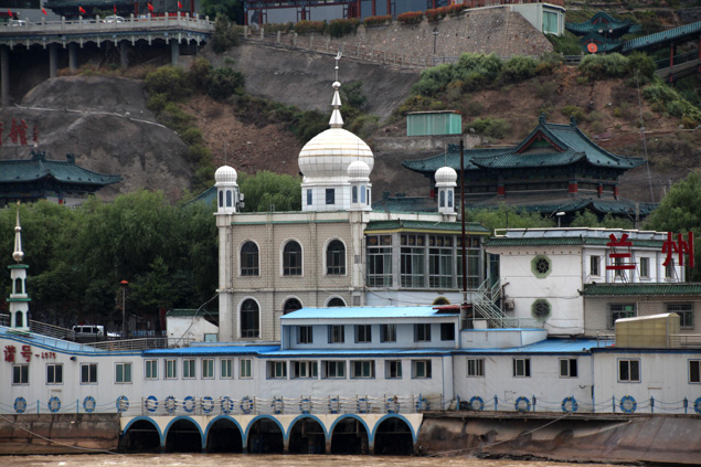 Mezquita del agua , en Baita Shan