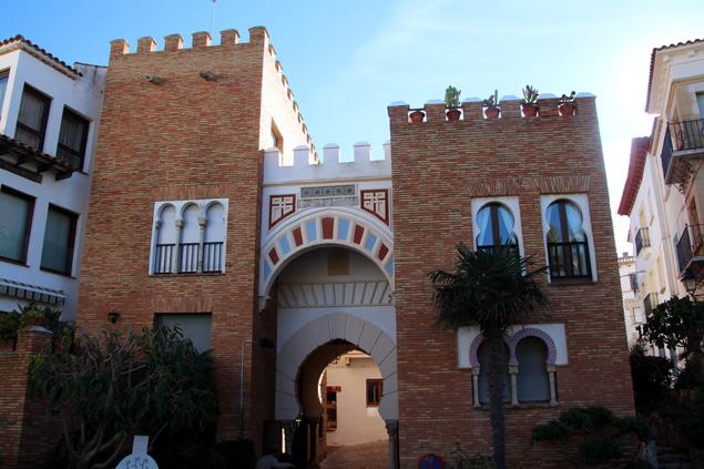 Una de las puertas de acceso al Roc de Sant Gaietà