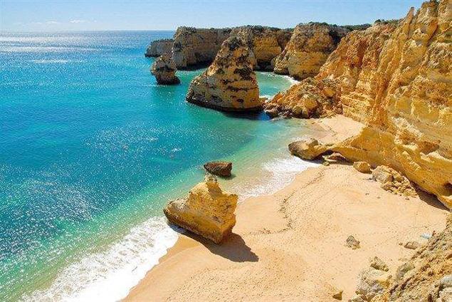 Praia da Marinha , joya del Algarve