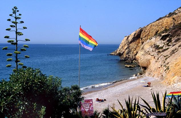 Playa de l'home mort (playa del muerto) zona nudista