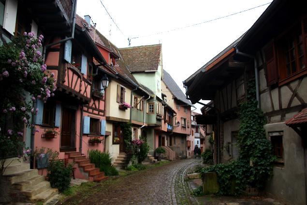 Calles de cuento en Eguisheim