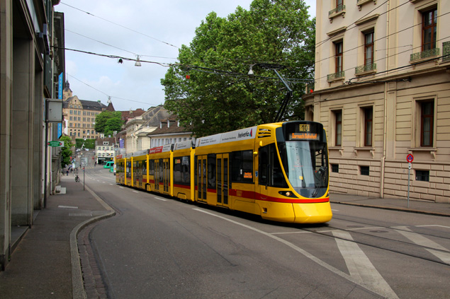 Tranvía en Basilea
