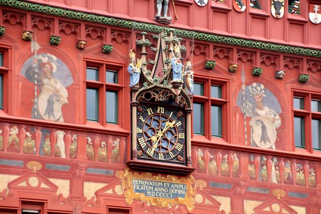 Reloj del ayuntamiento de Basilea