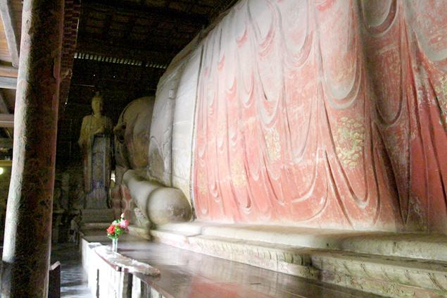 Gran Buda dormido , Dafo Si