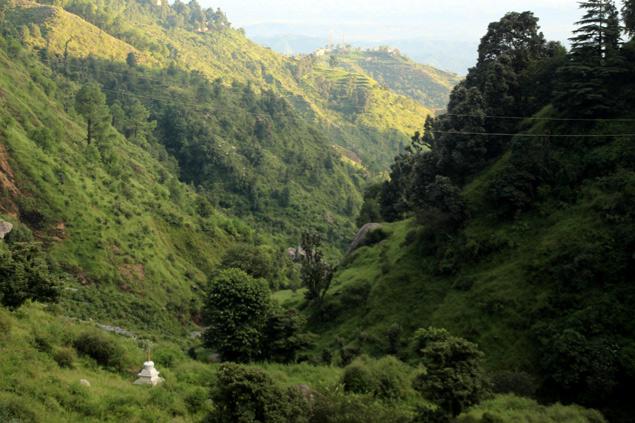 Aldea de Bhagsu , paraíso entre montañas