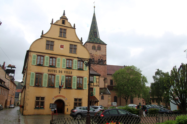 Turckheim , un lugar de ensueño