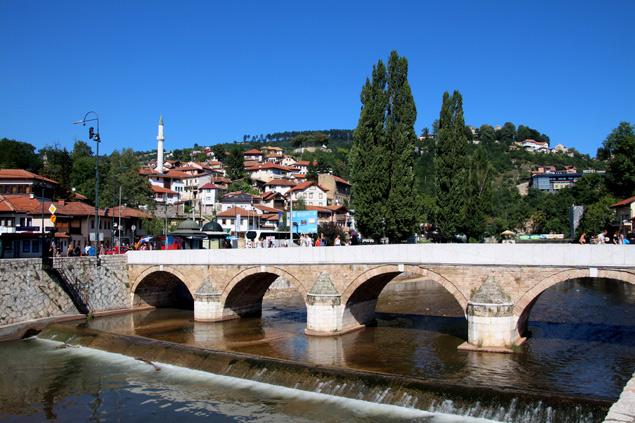 Puente de Sarajevo Bosnia