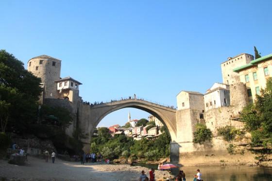 Mostar , Bosnia Herzegovina , oriente y occidente unidos
