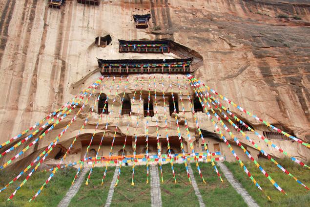 El monasterio en la roca Mati Si