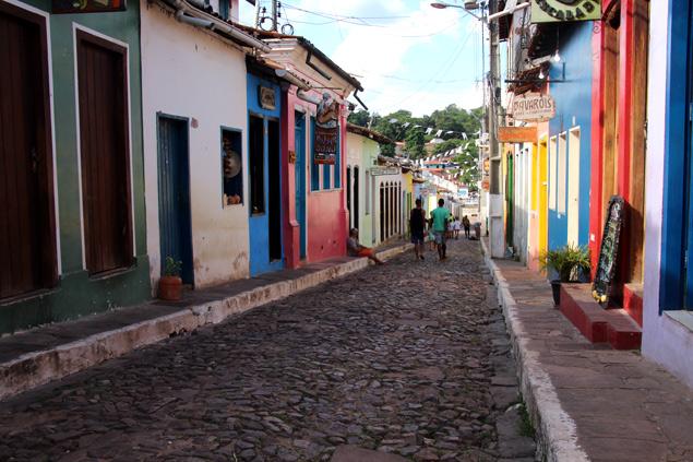Lençois , una ciudad llena de color