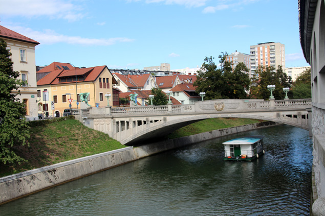 Vista del Puente de los Dragones