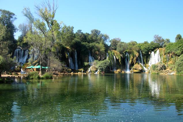 Parque de las cascadas Kravice