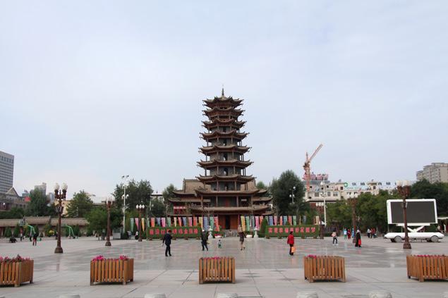 Mutà o pagoda de 5 pisos de Zhangye