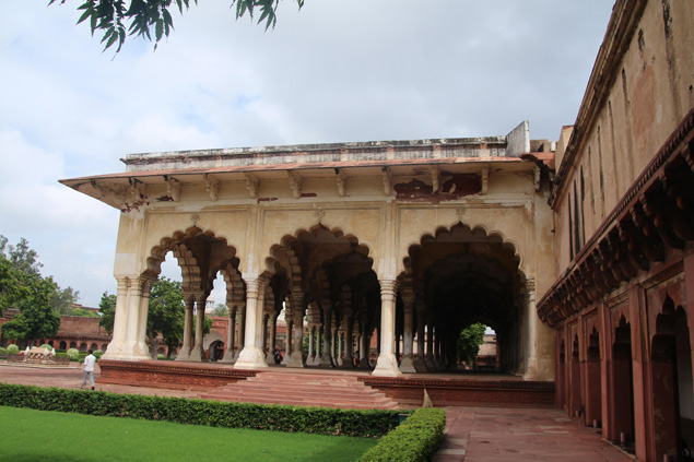 Interior del red fort