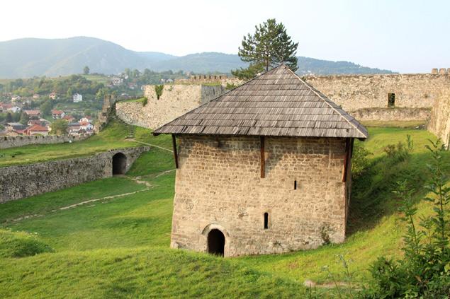 Castillo de Jajce