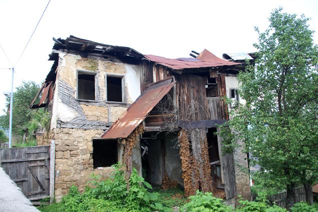 Restos de la Guerra de Bosnia