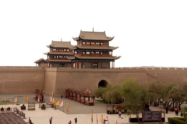 Fuerte de Jiayuguan o paso de Jiayu
