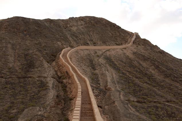Changcheng , la Gran Muralla (Ruta por Gansu)