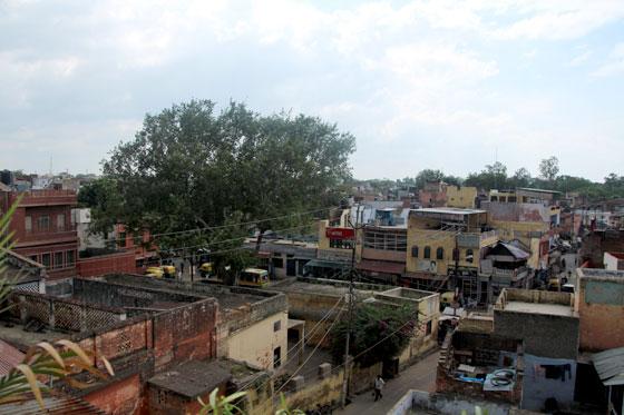 Vistas del barrio desde una terraza