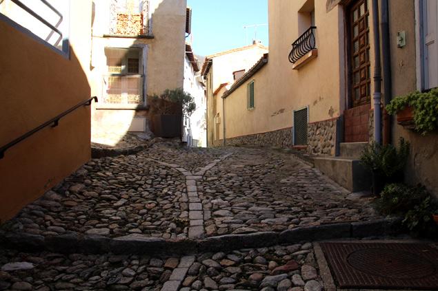 Calles de la localidad