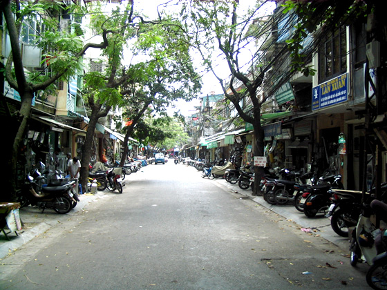Barrio antiguo de Hanoi