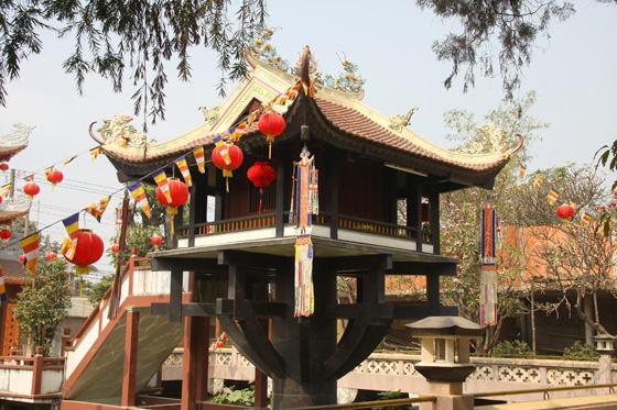 Que ver en Hanoi, Pagoda del Pilar único