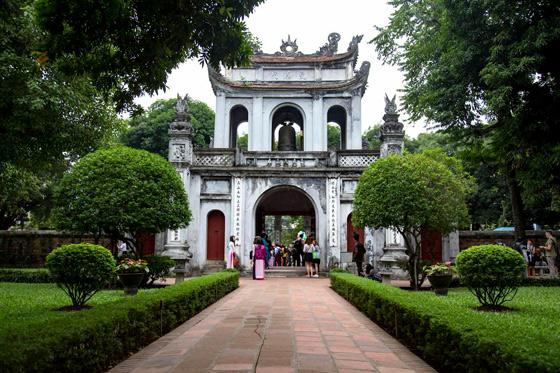Que ver en Hanoi, templo de la literatura