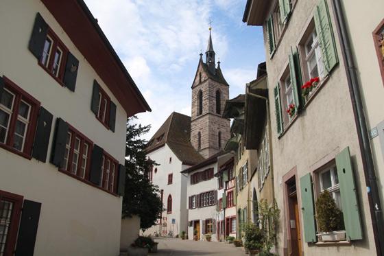 Casco antiguo de Basilea