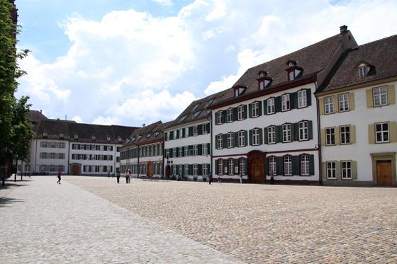Imagen del casco antiguo de Basilea