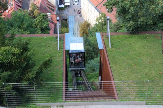 Funicular del castillo de Ljubljana