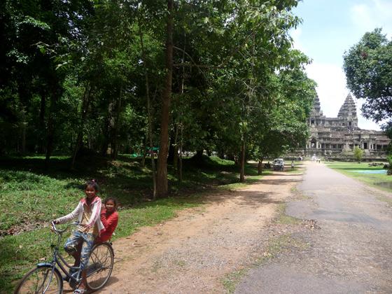 Bicicleta por Angkor