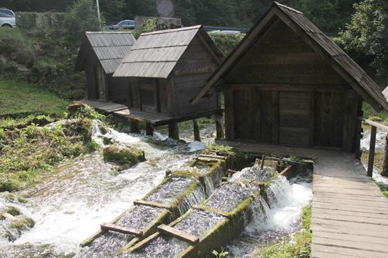 molinos medievales de pliva , Jajce