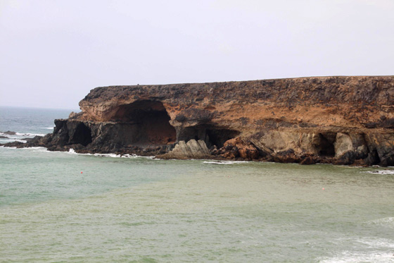Las cuevas de Ajuy