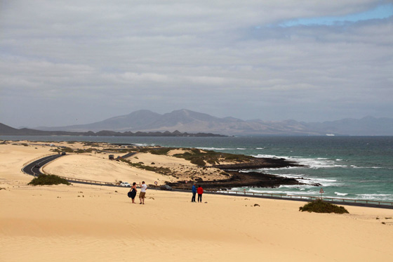 Ruta por Fuerteventura (Las dunas de Corralejo)