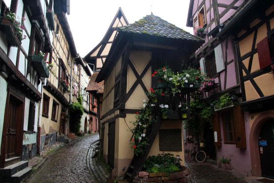 Ruta por Alsacia , Eguisheim