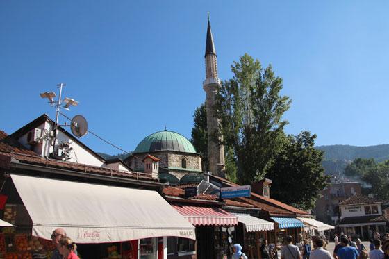 Mezquita en el barrio turco