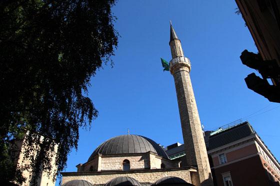 Mezquita en el Bacarsija