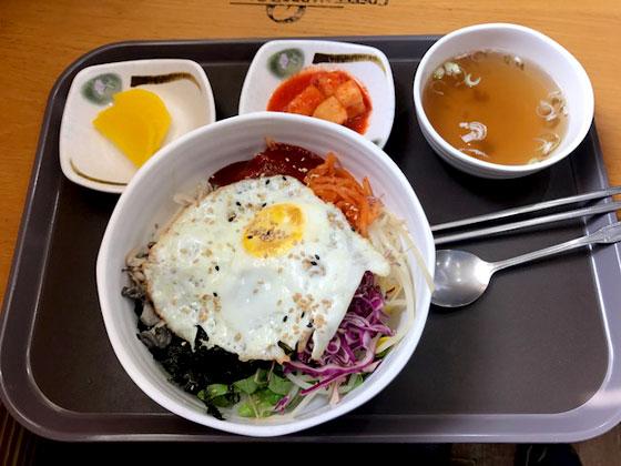 Binbimbap , plato nacional de Corea del sur