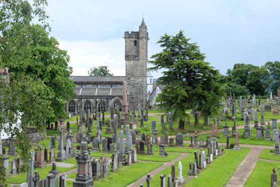 Cementerio de Stirling e iglesia Holy Rude