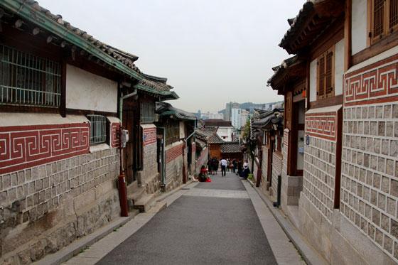 Calles tradicionales de Seul