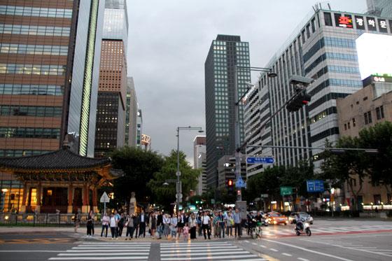 Ruta por corea del sur (Seul)