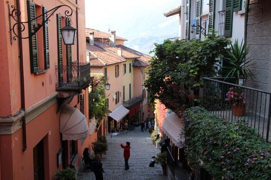 Lago di Como (calles de Bellagio)