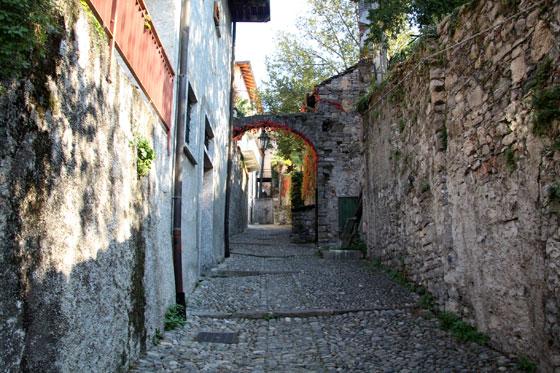 Calles de Varenna en el Lago di Como