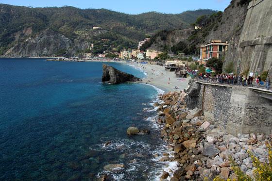 Cinque Terre (Vistas desde Monterosso)